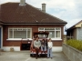 Patrick and family at house in Killiney